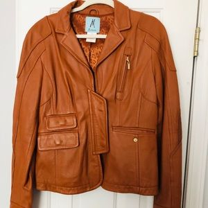 Vintage Guess by Marciano Leather Jacket